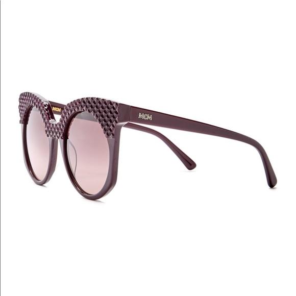 b2037cec88d87 MCM Cat Eye 52mm Acetate Frame Sunglasses Designer